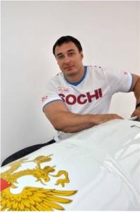 Alexej Wojewoda gewinnt Gold im Zweierbob an den Olympischen Winterspielen in Sotschi 2014
