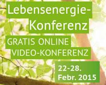 Lebensenergie-Konferenz 2015