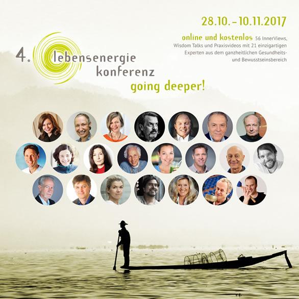 Lebensenergie Online-Konferenz 2017 - 28. Okt. - 10. Nov.